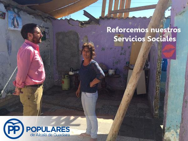 """Familia Alcalareña en """"La vereda del Cerero"""" viviendo en condiciones infrahumanas."""