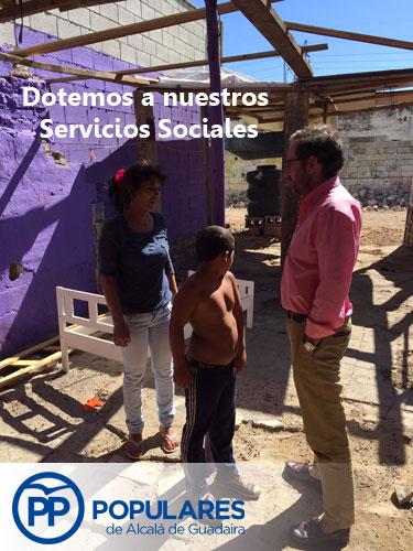 Necesidad de dotar de recursos a nuestros Servicios Sociales para ayudar a casos urgentes