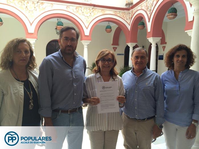 Un día cualquiera en el grupo municipal del PP de Alcalá de Guadaíra