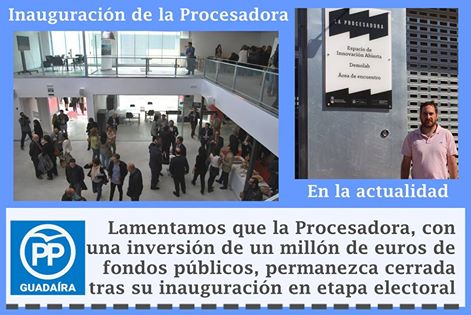 Incubadora y Procesadora de empresas cerradas en Alcalá de Guaaíra