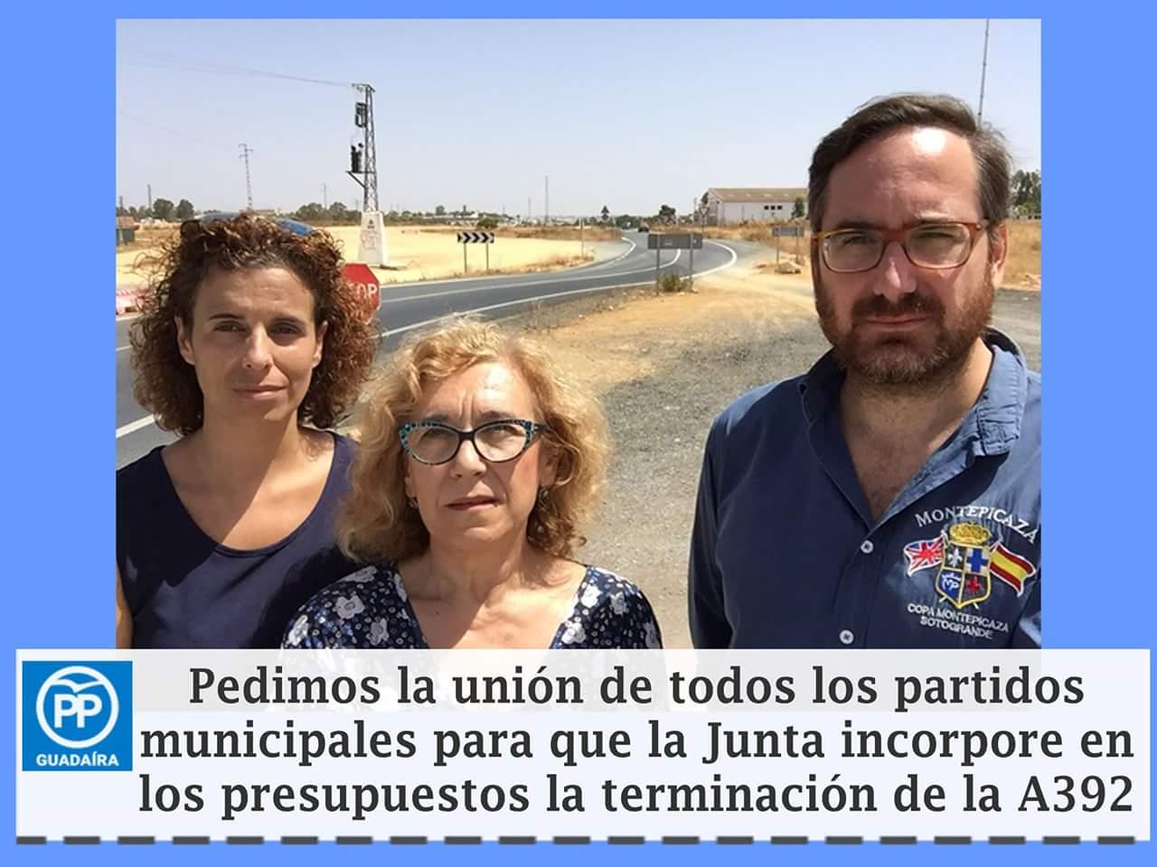 Gastar en estética antes que en seguridad en la Carretera de Dos Hermanas-Alcalá no es admisible