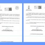 Escritos presentados en el Ayuntamiento por el Partido Popular