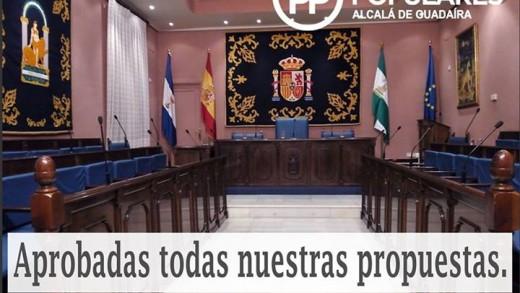 Aprobadas todas las mociones del PP en el pleno de Octubre de 2015