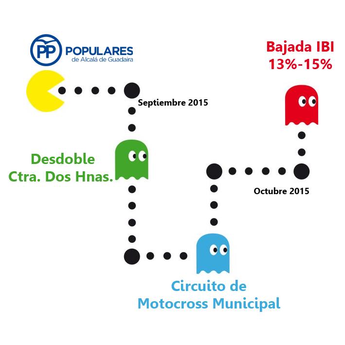 ¡ Ahora sí va a ser realidad la bajada del IBI! La propuesta del PP de Alcalá bajará el IBI entre un 13% y un 15%