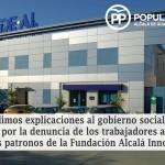Empleados de Fundación Municipal de Alcalá denuncian a los Patronos que la gestionaban