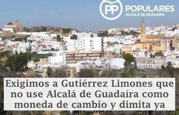 Alcalá no puede estar sin Gobierno