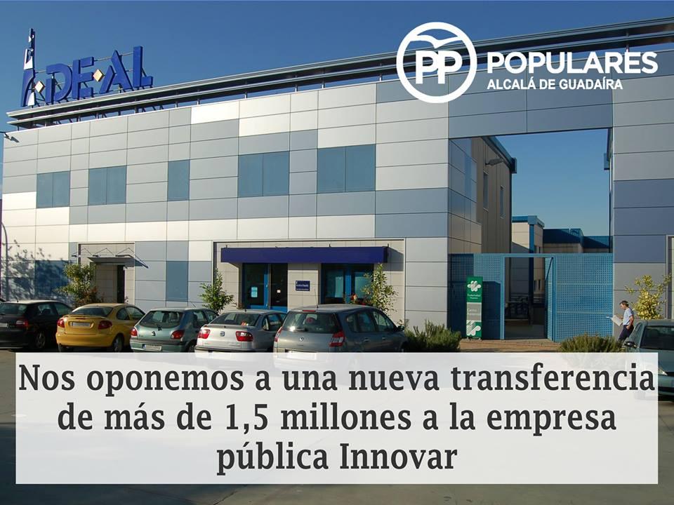 Sin información, justificación y análisis no hay aprobación por el PP de Alcalá