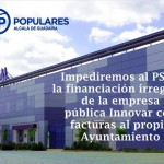 Impediremos cualqueir vía de financiación ilegal de empresas públicas.