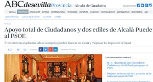 PSOE, Ciudadanos y dos ediles de Alcalá Puede lo han votado.