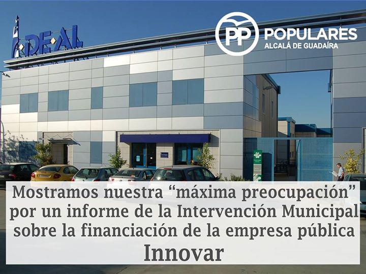 Preocupante informe de la Intervención Municipal que refuerza nuestra preocupación por que los alcalareños conozcan las verdaderas cuentas municipales a pesar del PSOE