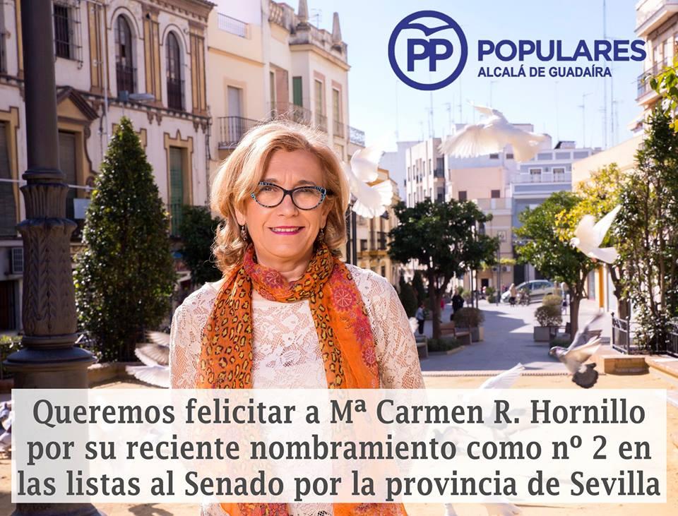 MariCarmen Rodríguez Hornillo, candidata al Senado por Sevilla