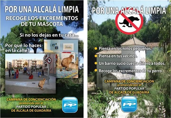 Campaña del PP de Alcalá en 2014