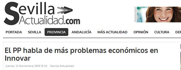 Artículo en Sevilla Actualidad