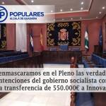 Aprobado con el incondicional apoyo de C´s y  dos concejales de Alcalá Puede