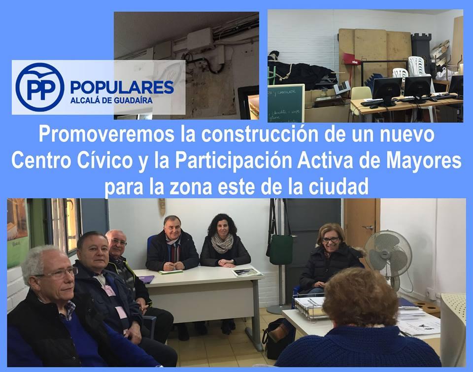 Nuevo Centro Cívico con la Participación Activa de Mayores