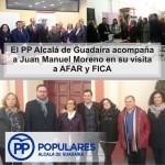 Juanma Moreno en Alcalá de Guadaíra, conociendo y apoyando nuestras iniciativas.