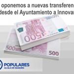 """Nueva transferencia a la sociedad municipal """"Innovar en Alcalá"""""""