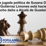 """Alcalá y Limones están en """"jaque"""" por la estrategia de Susana Díaz"""