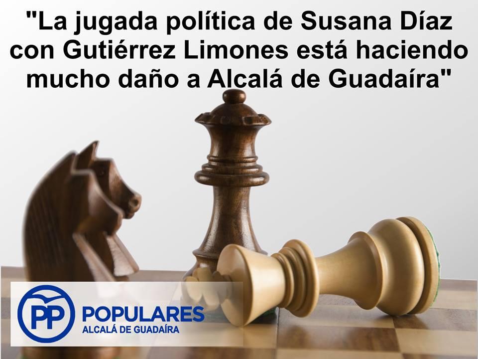 Susana Díaz se quiere hacer con el control de Alcalá y envíar un problema a Pedro Sánchez