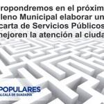 Definamos lo que el Ayuntamiento tiene que hacer y la mejor forma de hacerlo.