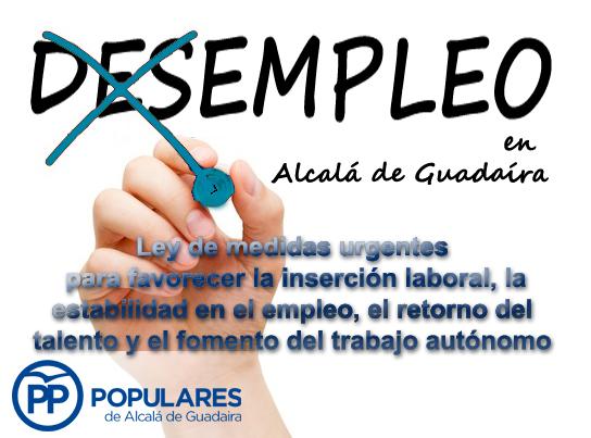 [DES]EMPLEO en Alcalá de Guadaíra (13/06/2016)
