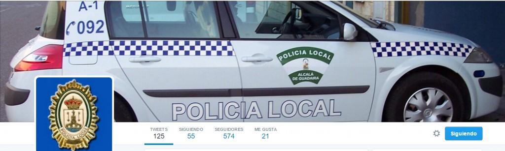 Twitter de la Policía Local de Alcalá de Guadaíra @pl_alcala https://twitter.com/pl_alcala