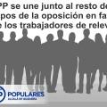 La Oposición de forma conjunta le recuerda al Gobierno del PSOE que debe cumplir los requerimientos de la inspección de trabajo