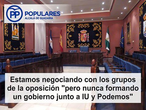 Todos los esfuerzos posibles para tratar de impedir un gobierno con fuertes sospechas de corrupción, como es el PSOE de Alcalá de Guadaíra