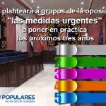 Medidas urgentes que necesita la gestión del Ayuntamiento de Alcalá de Guadaíra