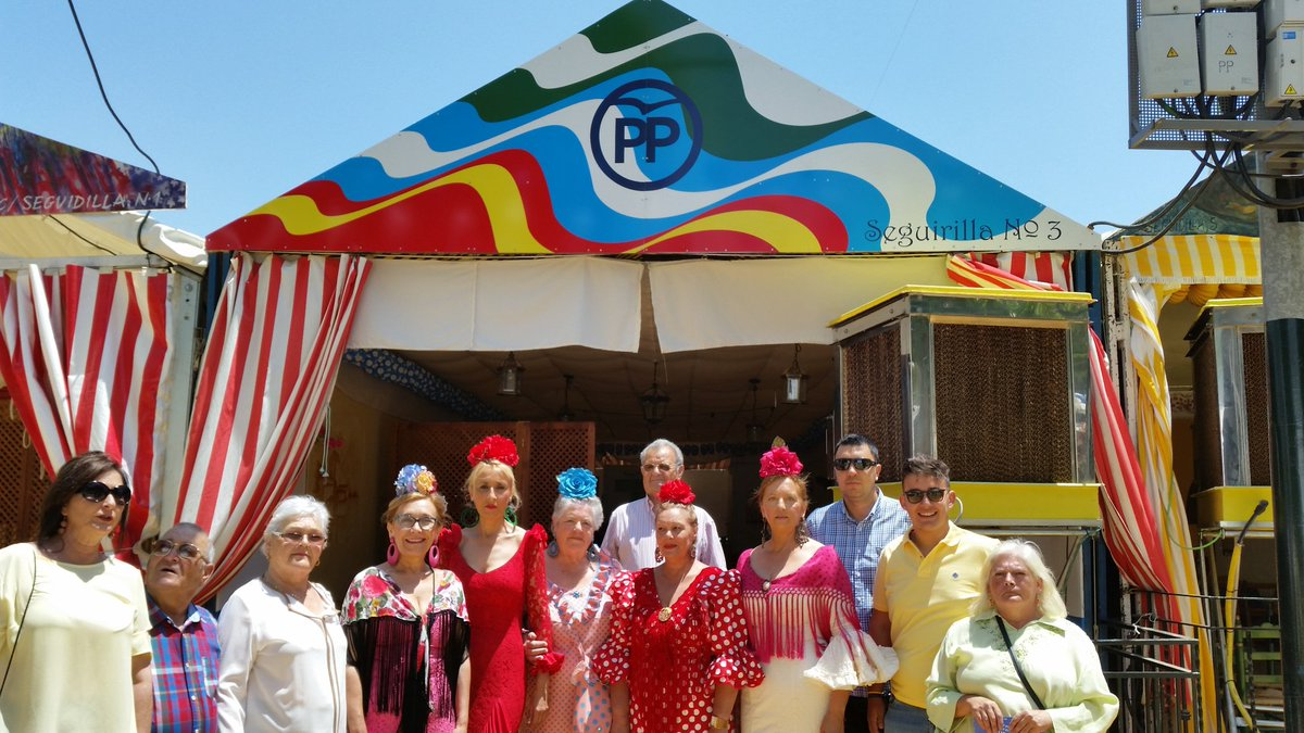 Tu caseta y nuestra gente en la Feria 2016 de Alcalá de Guadaíra