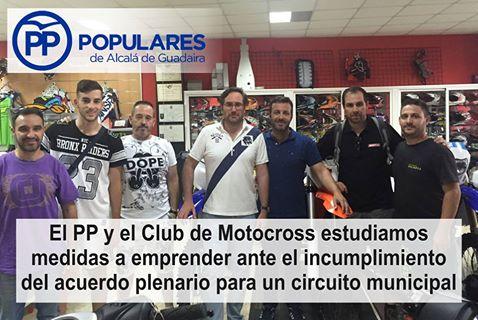 El Circuito de Motocross aprobado por unanimidad, está olvidado por el PSOE y su Alcaldesa