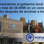 Seguir empleando recursos de Innovar no ayuda a solucionar los problemas que el PSOE ha creado.