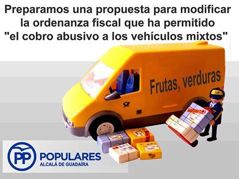 Apoyaremos a los transportistas de Alcalá actualizando una ordenanza injusta