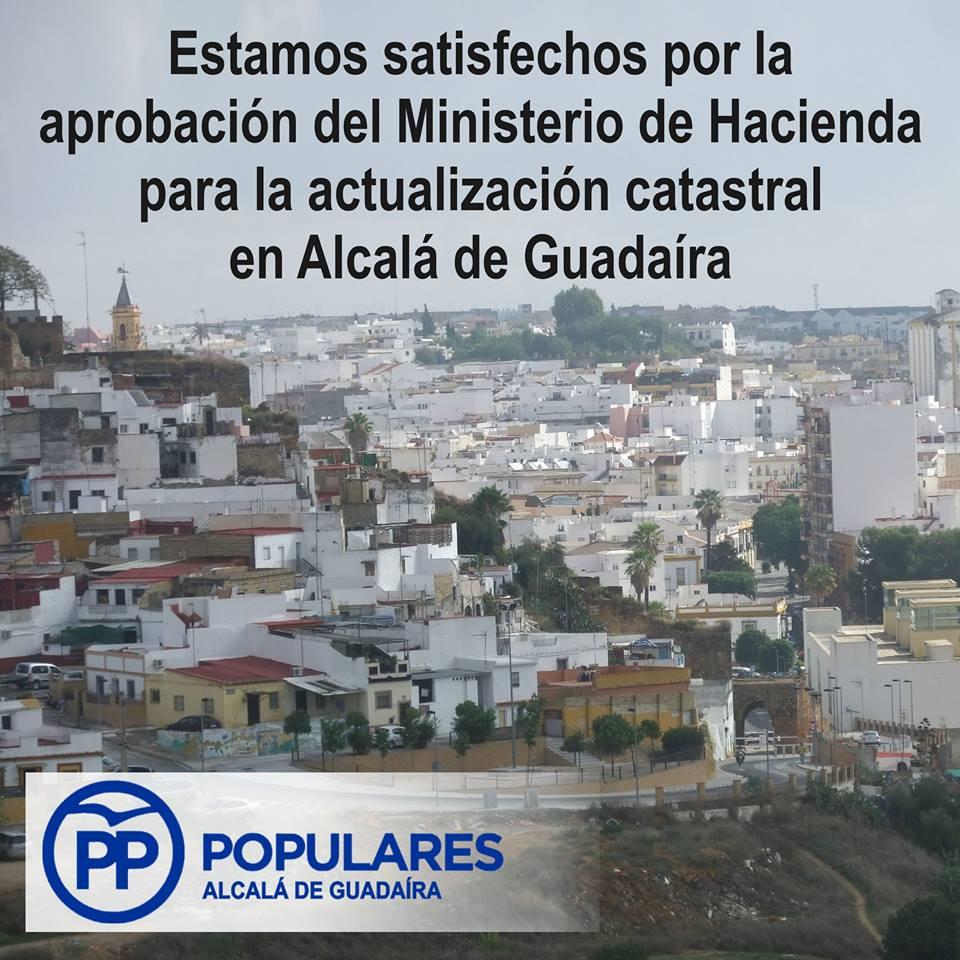 Para un más justo IBI, satifechos de que el Minis. de Hacienda apruebe revisar el valor catastral en Alcalá de Guadaíra