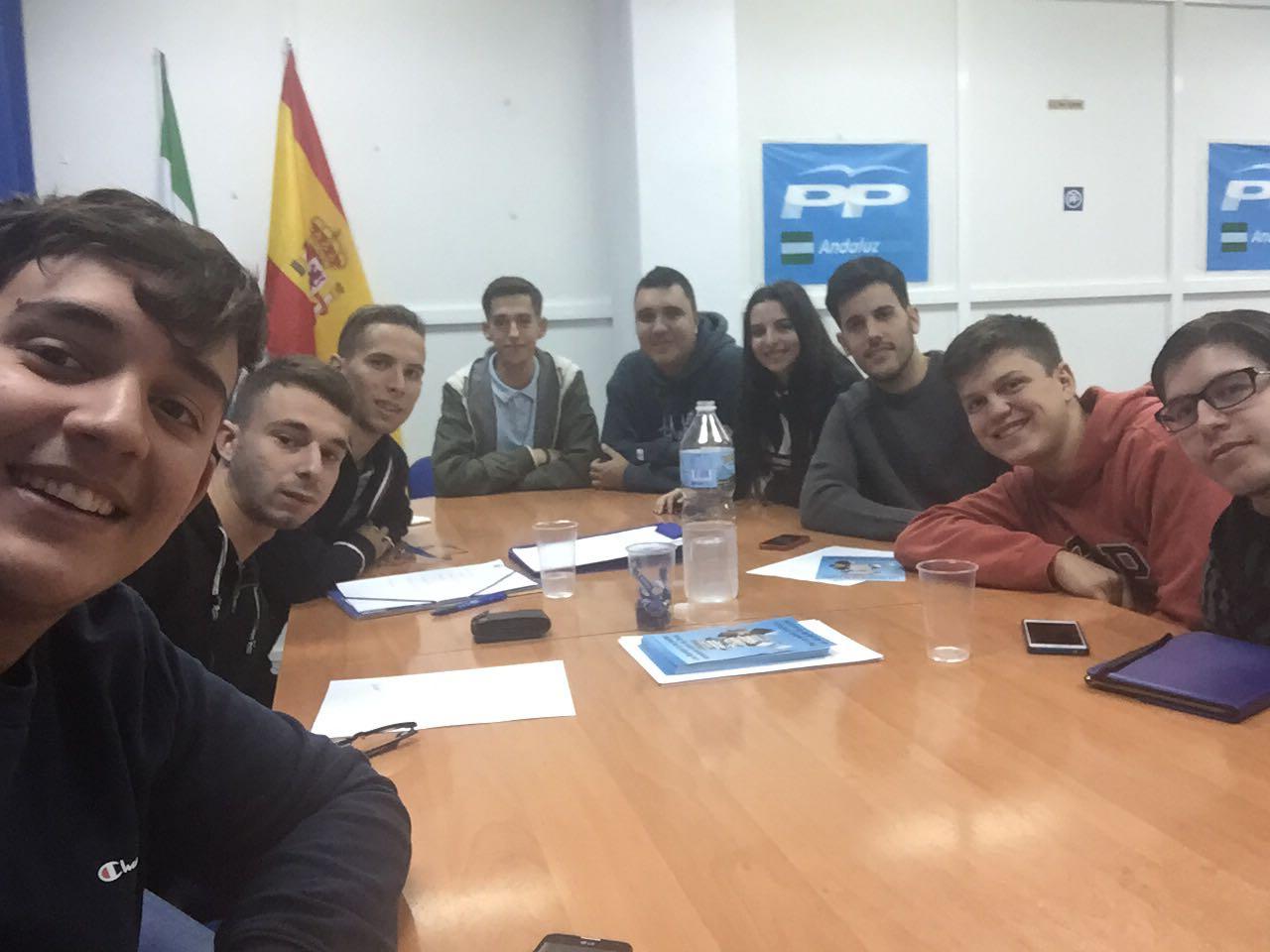 Nuevas Generaciones trabajando por Alcalá y el nuevo Instituto – ¿Nos ayudas?