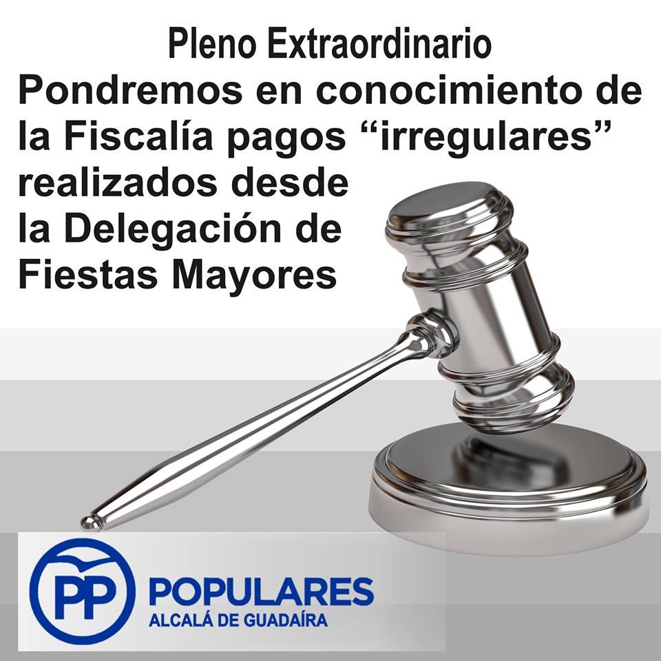 PSOE urge con 2,4 Millones en facturas fuera del control administrativo reglamentado