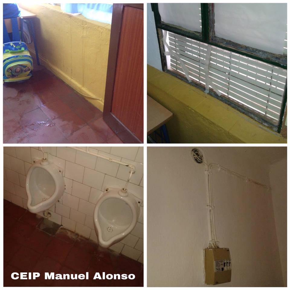 Presupuesto para una aulas decentes en el CEIP Manuel Alonso después de 15 años de promesas