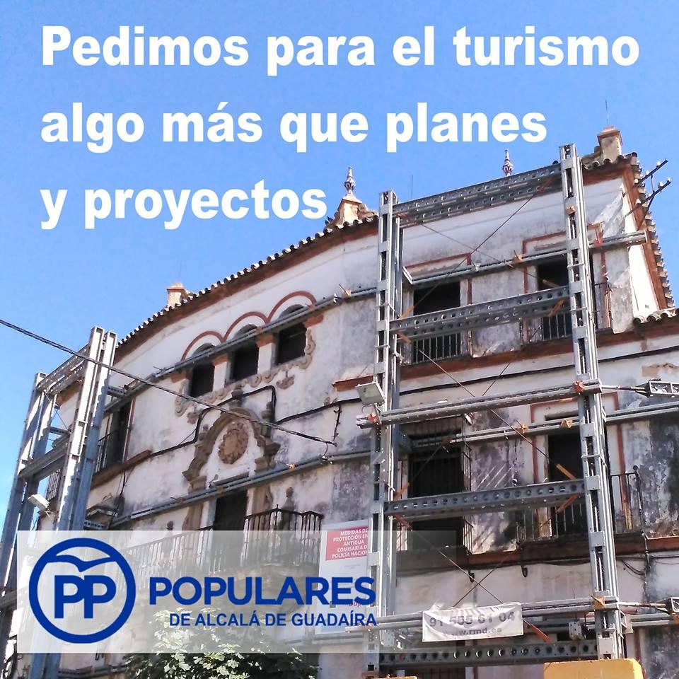 Pasar de sólo anunciar planes para hacer, alguna vez, realidad el turismo en Alcalá de Guadaíra