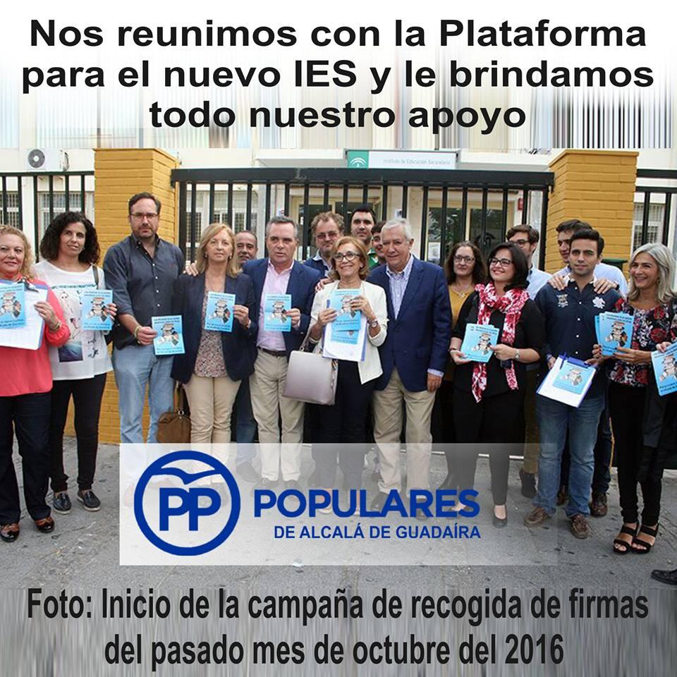 Plataforma de AMPAs de Alcalá de Guadaíra por un nuevo Instituto