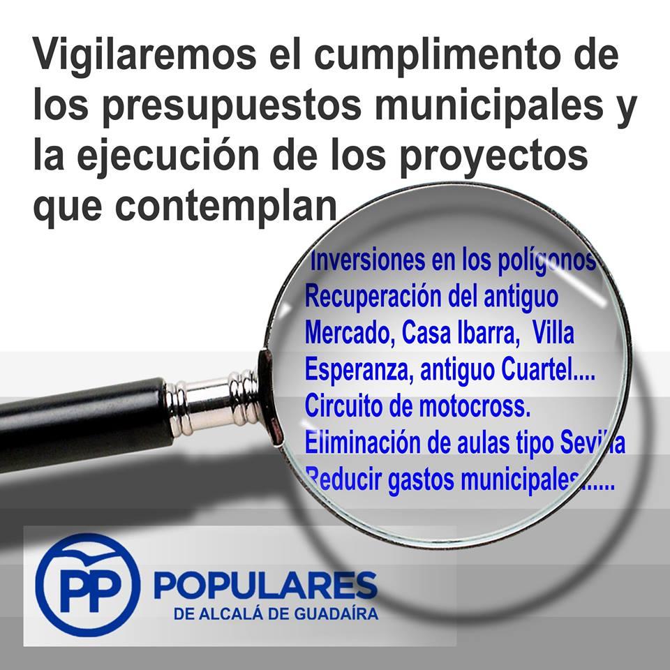 Tres años después, Alcalá de Guadaíra tiene presupuestos aunque bajo vigilancia