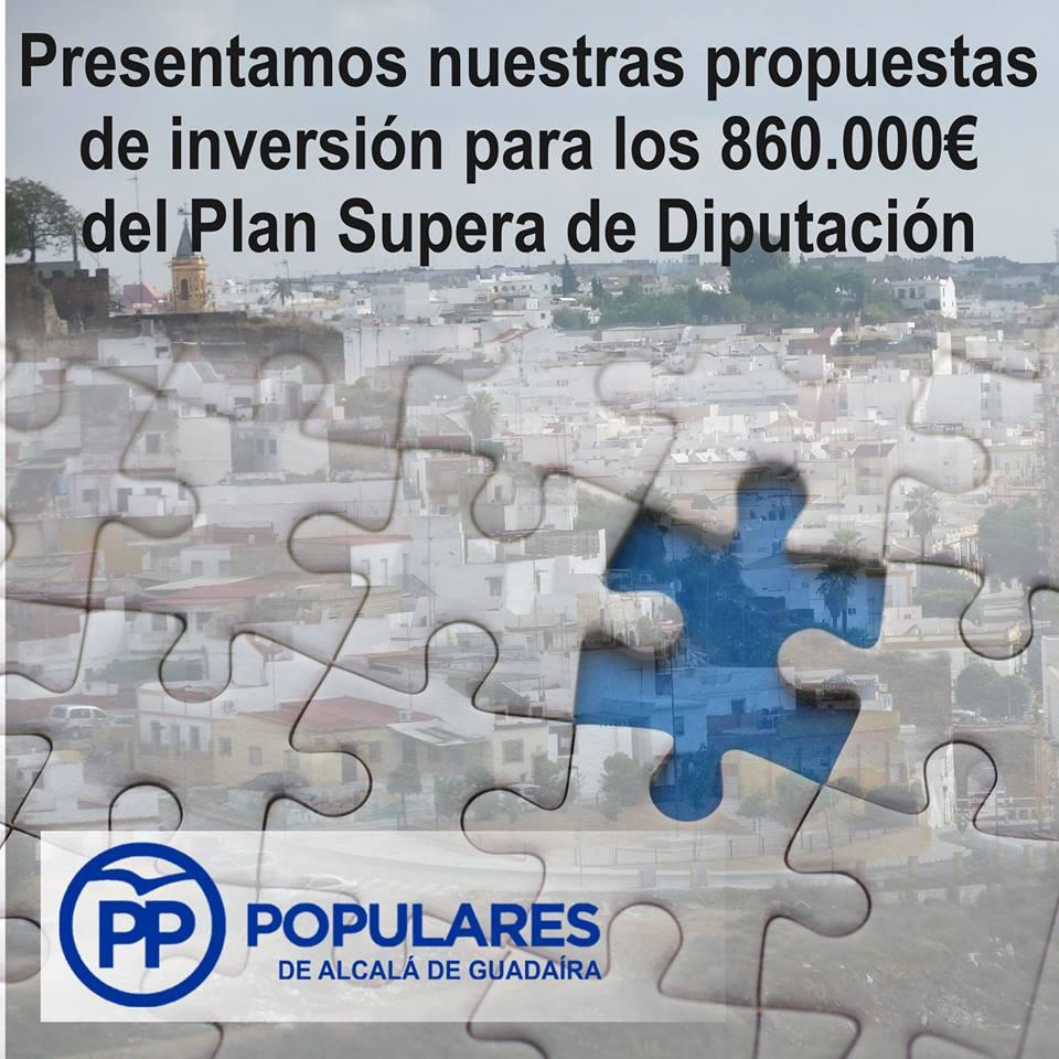 """El PP planifica soluciones con tiempo, aunque a la espera del PSOE para aprovechar el """"Plan SUPERA"""""""