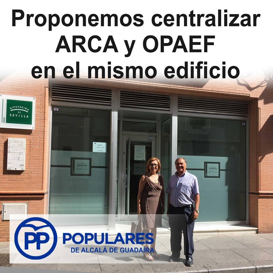 El Opaef en Alcalá de Guadaíra recauda los impuestos con deficiencias