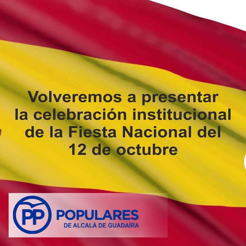 Celebremos la unidad en Alcalá para el Día Nacional del 12 de Octubre