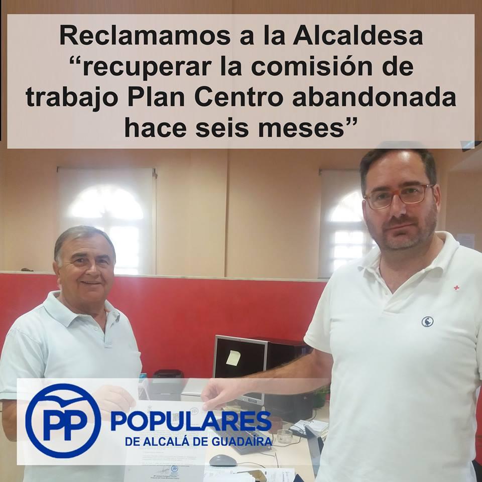 Plan para el Centro. Imposible mejorar nada en Alcalá con una reunión cada 6 meses