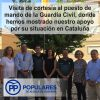 Agradecimiento, respeto y consideración a la Guardia Civil,por su trabajo al servicio de los  Españoles y la Constitución que compartimos.