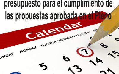 PP exige un calendario con fecha y presupuesto para el cumplimiento de las propuestas aprobada en el Pleno