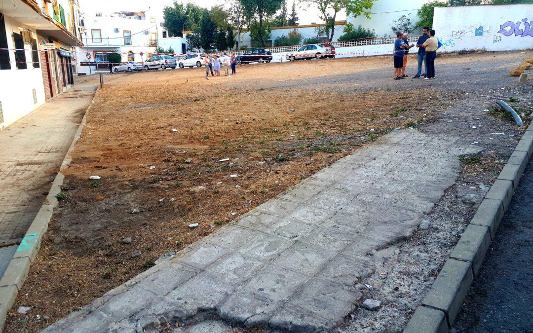 El Gobierno PSOE-Cs rechaza actuar de urgencia en la Plaza Cristo de la Bondad.