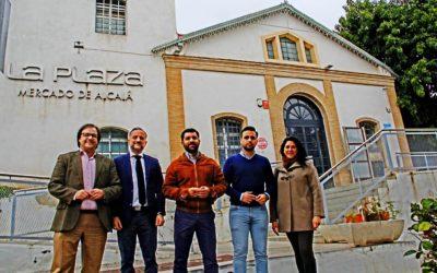 El Gobierno de PSOE-Ciudadanos se niega a investigar la sospechosa adjudicación del Mercado de Alcalá.