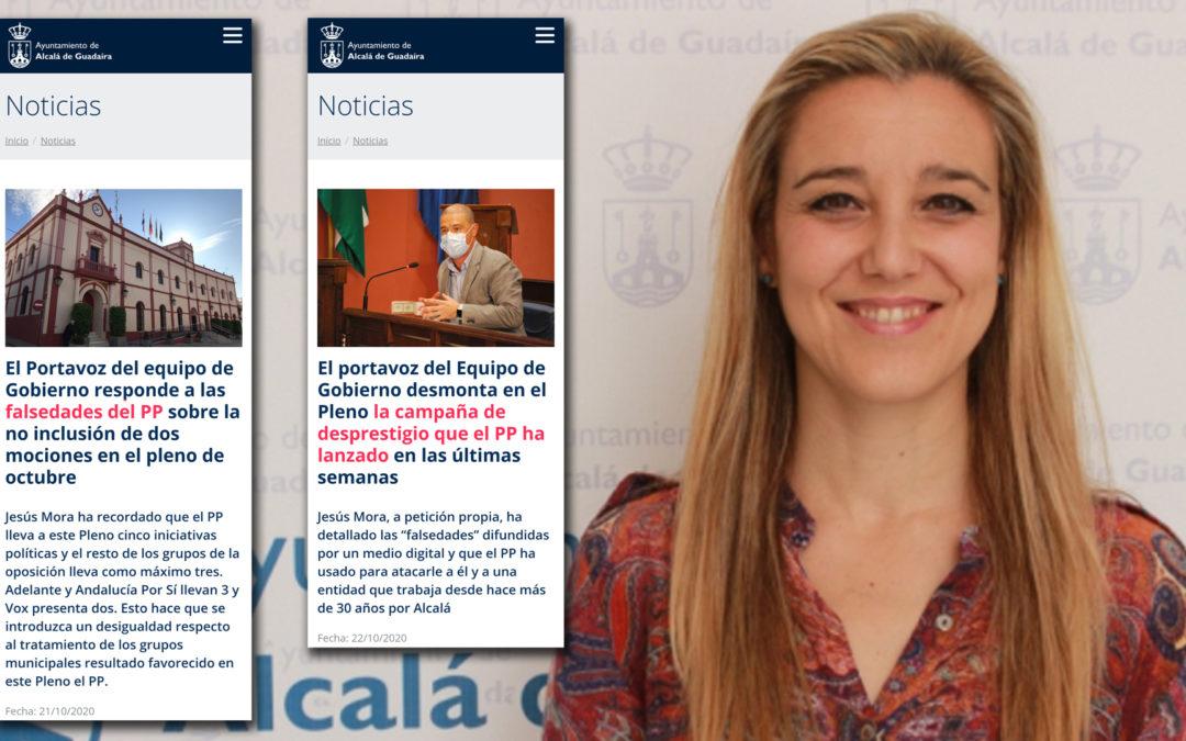 El Gobierno de Jiménez malversa el dinero público para atacar al PP utilizando los medios oficiales del Ayuntamiento