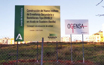 El inicio de las trabajos en el solar del nuevo IES pone de manifiesto el claro compromiso del PP con Alcalá de Guadaíra